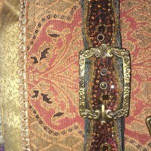 Belt with sequins